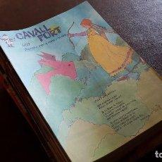 Cómics: LOTE CAVALL FORT. 88 REVISTAS ENTRE EL 500 Y EL 599 1983-1987. Lote 104467915