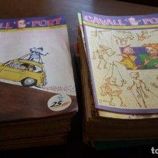 Cómics: LOTE CAVALL FORT. 77 REVISTAS ENTRE EL NÚMERO 600 Y EL 699. Lote 104468215