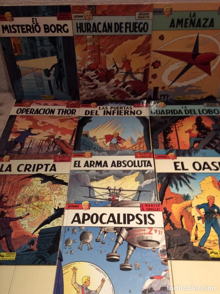 LEFRANC - COLECCIÓN DE 24 EJEMPLARES / JACQUES MARTIN -ED. GRIJALBO - NETCOM2 EDITORIAL (Tebeos y Comics - Comics Colecciones y Lotes Avanzados)
