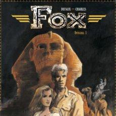 Cómics: CÓMICS. FOX INTEGRAL 01 - JEAN DUFAUX/JEAN-FRANÇOIS CHARLES (CARTONÉ). Lote 104515287