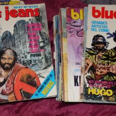 Cómics: COLECCION COMPLETA DE COMICS BLUE JEANS LOS 28 NUMEROS (1 DETERIORADO). Lote 32897485