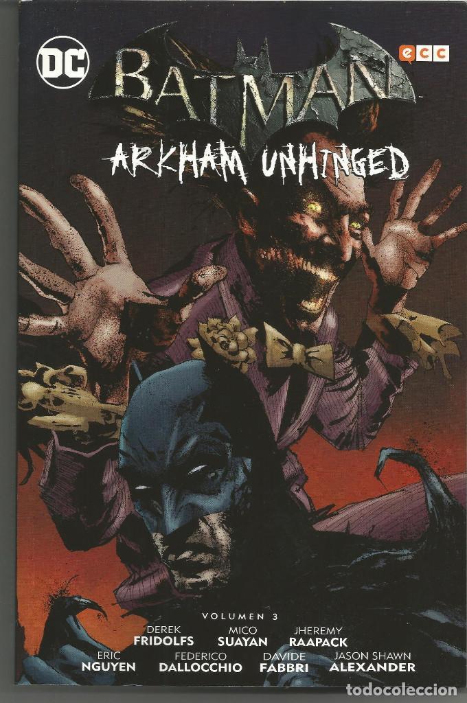 BATMAN: ARKHAM UNHINGED VOL. 03 ECC (Tebeos y Comics - Comics otras Editoriales Actuales)