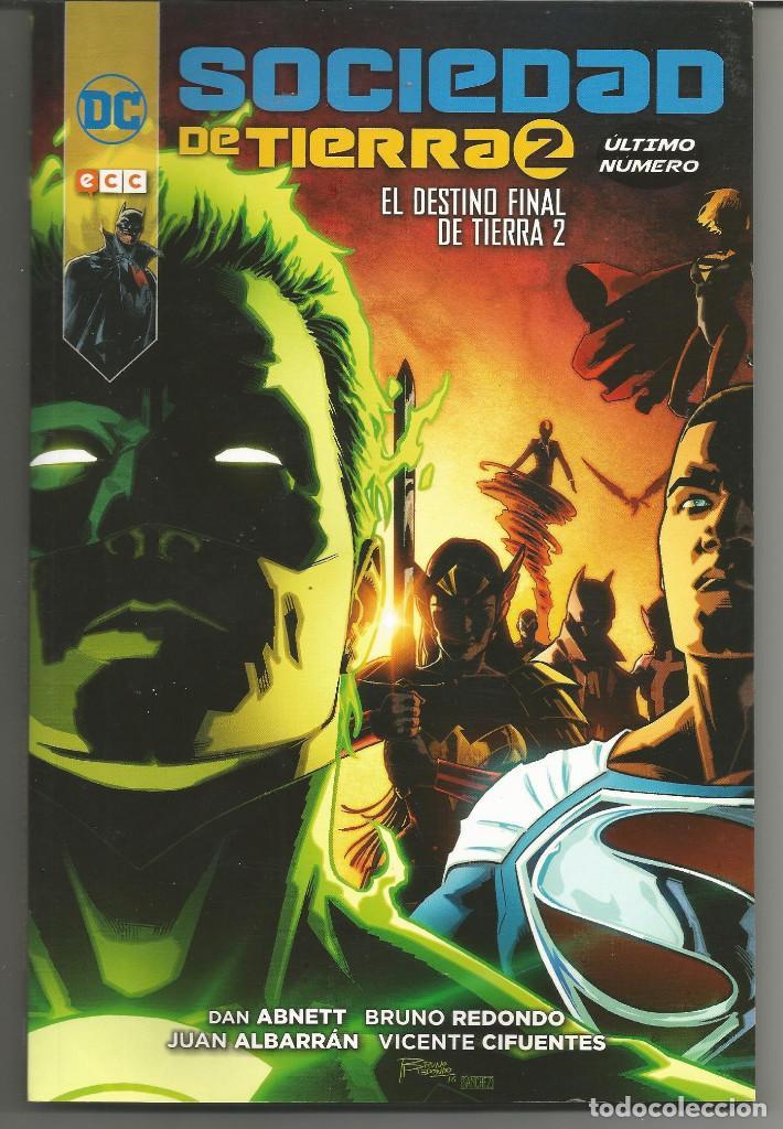 SOCIEDAD DE TIERRA 2: EL DESTINO FINAL DE TIERRA ECC (Tebeos y Comics - Comics otras Editoriales Actuales)