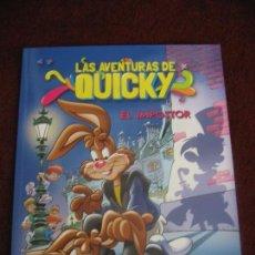 Cómics: LAS AVENTURAS DE QUICKY EL IMPOSTOR. Lote 104688415