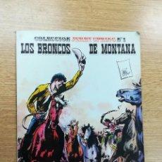 Cómics: COLECCION JERRY SPRING #1 LOS BRONCOS DE MONTANA (EDICIONES RO). Lote 104893699