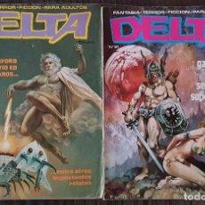 Cómics: COLECCIÓN DELTA. LOTE DE 2 TOMOS (23 Y 31). EDICIONES DELTA 1980. Lote 104977535