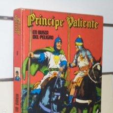Cómics: HEROES DEL COMIC TOMO PRINCIPE VALIENTE Nº 6 EN BUSCA DEL PELIGRO - BURU LAN -. Lote 105038803