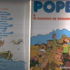 Cómics: POPEYE DE BURULAN EDICION 1983 NUMERO 6: EL RANCHO DE ROSARIO (NUMERADO 2 ULTIMA PAGINA). Lote 105251196