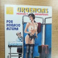 Cómics: URGENCIAS MEDICOS Y ENFERMERAS (MAESTROS DEL EROTISMO #1 - HORACIO ALTUNA) (RBA). Lote 105276903