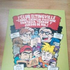 """Cómics: """"EL CLUB ELTINGVILLE, DE CÓMIC, CIENCIA-FICCIÓN, FANTASÍA, TERROR Y JUEGOS DE ROL"""", DE EVAN DORKIN. Lote 179143213"""