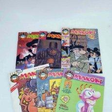 Cómics: MAKOKI SEGUNDA ÉPOCA LOTE NºS 1, 2, 3, 4, 5 Y 6 (VVAA) MAKOKI, 1989. OFRT. Lote 105457008