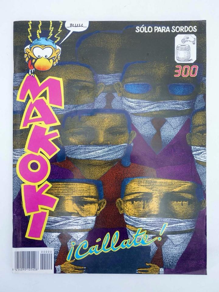 Cómics: MAKOKI SEGUNDA ÉPOCA. LOTE ESPECIAL DRONGA, GUARRIX Y CÁLLATE (Vvaa) Makoki, 1989. OFRT - Foto 5 - 269187466