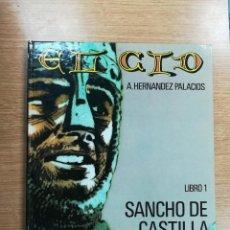 Cómics: EL CID #1 SANCHO DE CASTILLA (IKUSAGER). Lote 105624815