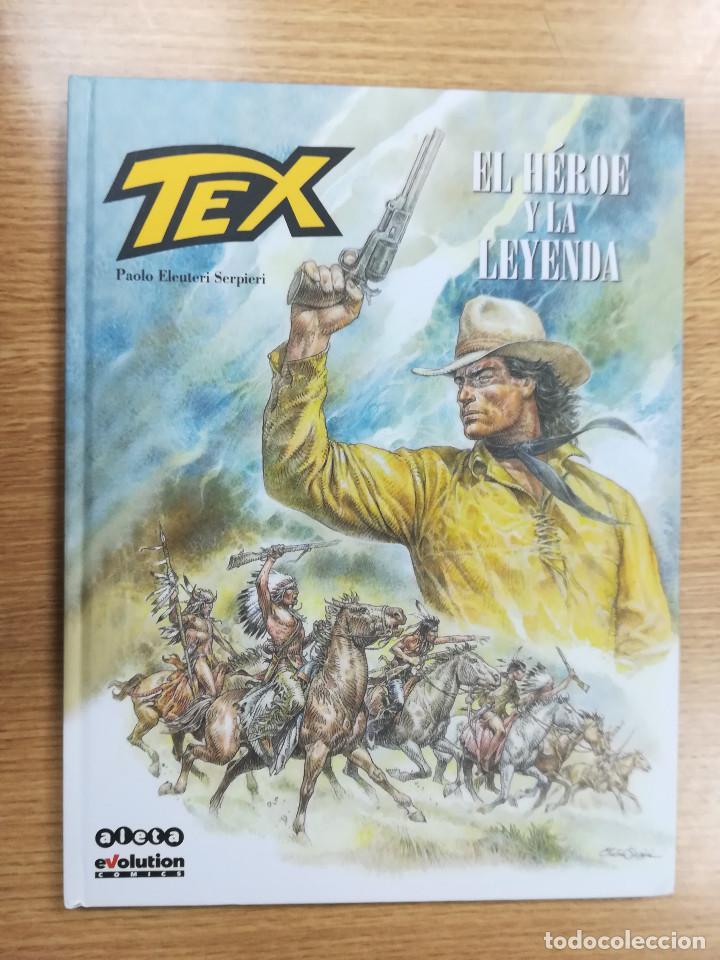 TEX EL HEROE Y LA LEYENDA (ALETA) (Tebeos y Comics - Comics otras Editoriales Actuales)