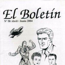 Cómics: EL BOLETÍN 58 / ABRIL-JUNIO 2004 / MARTÍNEZ OSETE. Lote 105814755