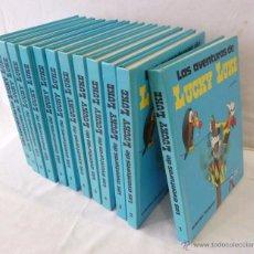Cómics: COLECCION COMPLETA LUCKY LUKE-12 TOMOS-EDICION DE LUJO-GRIJALBO/DARGAUD. Lote 105791087