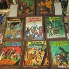 Cómics: CLASICOS ILUSTRADOS ENCUADERNACION DE LUJO JOYAS LITERARIAS 8 TOMOS EDICIONES B. Lote 105833807