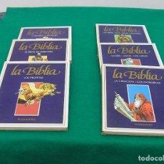 Cómics: LA BIBLIA. 6 TOMOS DE TAPA DURA . PLAZA & JANÉS. EDITADOS EN 1985. ANTIGUO TESTAMENTO COMPLETO.. Lote 105916387