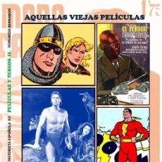 Cómics: AQUELLAS VIEJAS PELÍCULAS Y VIEJOS TEBEOS (TARZÁN, GUERRERO DEL ANTIFAZ, MARAVILLAS, DICK TRACY). Lote 235155425