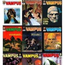 Cómics: VAMPUS - COLECCIÓN COMPLETA 77 NªS Y EXTRAS. Lote 105976423
