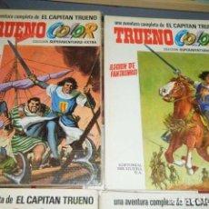 Cómics: CAPITAN TRUENO, TRUENO COLOR EXTRA ALBUNES PRIMERA ÈPOCA 1969 A 1975. COMPLETA. Lote 105977691