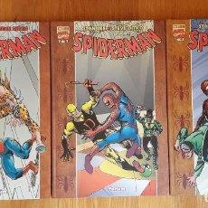 Cómics: SPIDERMAN PLANETA FORUM. TRES TOMOS SIN ABRIR. STEVE DITKO Y STAM LEE. Lote 105978151
