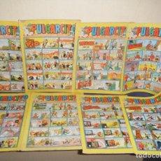Cómics: REVISTA PULGARCITO BRUGUERA PRINCIPIO DE LOS 70, LOS DE LA PAJARITA. Lote 105979387