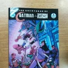 Cómics: LAS AVENTURAS DE BATMAN Y LAS TORTUGAS NINJA #5 (ECC EDICIONES). Lote 106358931
