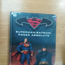 Cómics: SUPERMAN BATMAN PODER ABSOLUTO (BATMAN SUPERMAN COLECCION NOVELAS GRAFICAS #21) (ECC-SALVAT). Lote 106557363