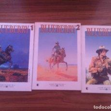 Cómics: BLUEBERRY 1-2 Y 3. LOS GRANDES HEROES DEL COMIC. EL MUNDO. RÚSTICA. BUEN ESTADO. Lote 106618731