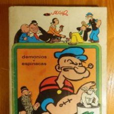 Cómics: POPEYE - DEMONIOS Y ESPINACAS - SEGAR - LUCCA - 1973 - 35 COMICS CLÁSICOS. Lote 106871155