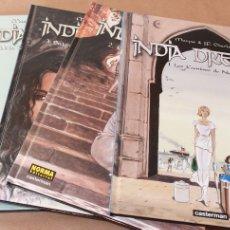 Cómics: INDIA DREAMS 1 2 3 4 – COMPLETA – CASTERMAN Y NORMA ED. - COMPLETA - NUEVOS. Lote 107084334