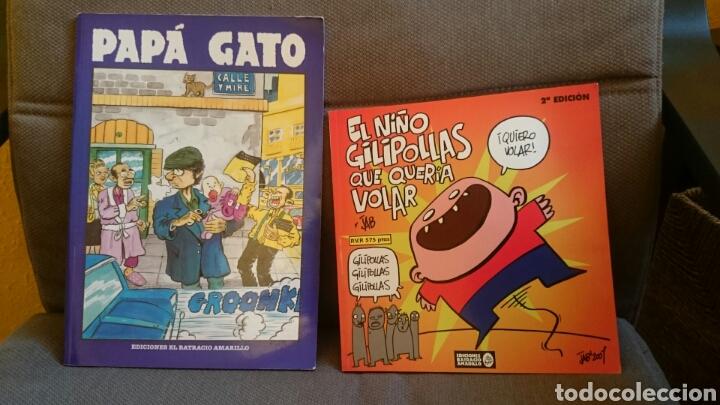 PAPA GATO.LOTE 2 COMICS. BATRACIO AMARILLO (Tebeos y Comics - Comics otras Editoriales Actuales)