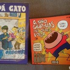 Cómics: PAPA GATO.LOTE 2 COMICS. BATRACIO AMARILLO. Lote 107105750
