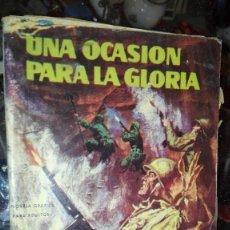 Cómics: UNA OCASION PARA LA GLORIA - VALOR Nº 13 NOVELA GRAFICA EDITORIAL SEMIC 1965 . Lote 107202007