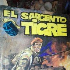Cómics: EL SARGENTO TIGRE. Lote 107202843