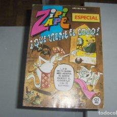 Cómics: ZIPI Y ZAPE ESPECIAL 142 QUE VIENE EL COCO. Lote 107501367