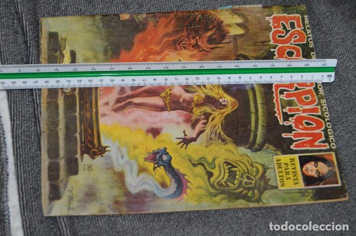 Cómics: LOTE 2 TEBEO / COMIC - ESCORPION - Nº 14 Y 20 - REVISA PARA ADULTOS - AÑOS 70 - VINTAGE - HAZ OFERTA - Foto 6 - 107524835