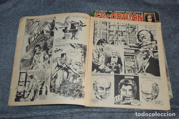 Cómics: LOTE 2 TEBEO / COMIC - ESCORPION - Nº 14 Y 20 - REVISA PARA ADULTOS - AÑOS 70 - VINTAGE - HAZ OFERTA - Foto 10 - 107524835