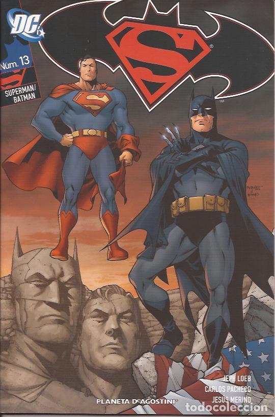 COMIC-SUPERMAN/BATMAN Nº 13 LOEB PACHECO DC COMICS PLANETA (Tebeos y Comics Pendientes de Clasificar)