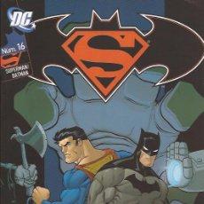 Cómics: COMIC-SUPERMAN/BATMAN Nº 16 LOEB MCGUINESS DC COMICS PLANETA. Lote 107593659