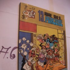 Cómics: ANTIGUO COMIC OLE - 13, RUE DEL PERCEBE. Lote 107802055