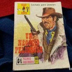 Cómics: GRAN OESTE. UN NEGOCIO PELIGROSO AÑO 1977. Lote 107833503