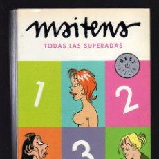 Cómics: TODAS LAS SUPERADAS POR MAITENA - 1ª EDICIÓN DEBOLSILLO: ENERO, 2010 · 448 PÁGINAS ILUSTRADAS -. Lote 107884603