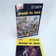 Cómics: EN UN LUGAR DE LA MENTE 1 Y 2. COMPLETA (JOSEP M. BEÀ) GARCÍA Y BEÀ, 1983. OFRT. Lote 244960520