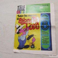 Cómics: TELE CHICO 1973 EL PAJARO LOCO, MOLECULA, GENERAL DUMAS , OSO YOGI, LOS VENGADORES, GAGARIN. Lote 108041555