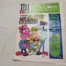Cómics: TELE CHICO 1973 LOS CHIFLADOS DE CHICAGO, LOS PICAPIEDRA, SAM COLT, LOS VENGADORES, PULGARCITO. Lote 108042283