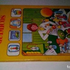 Cómics: EXPERIMENTOS QUIMICOS-GUIA DEL CIENTIFICO-EDICIONES PLESA 1981. Lote 108285923