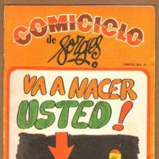 Cómics: COMICICLO DE FORGES Nº 19. Lote 115130238