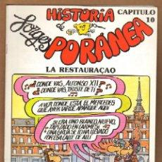 Cómics: HISTORIA PORANEA DE FORGES - CAPITULO 10. Lote 115130204